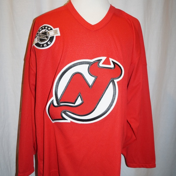 new style 61040 3c2a0 NJ New Jersey Devils CCM Jersey Adult XL NHL